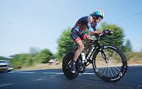 Andy Schleck (LUX)<br /> <br /> Tour de France 2013<br /> stage 11: iTT Avranches - Mont Saint-Michel <br /> 33km
