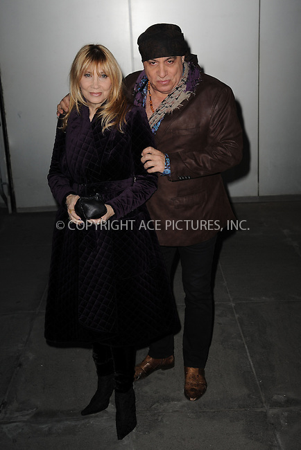 WWW.ACEPIXS.COM<br /> March 22, 2015 New York City<br /> <br /> Maureen Van Zandt and Steven Van Zandt attending the 'Mad Men' New York Special Screening at The Museum of Modern Art on March 22, 2015 in New York City.<br /> <br /> Please byline: Kristin Callahan/AcePictures<br /> <br /> ACEPIXS.COM<br /> <br /> Tel: (646) 769 0430<br /> e-mail: info@acepixs.com<br /> web: http://www.acepixs.com