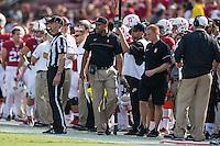 STANFORD, CA -- November 5, 2016<br /> Stanford Cardinal vs. the Oregon State Beavers at Stanford Stadium in Stanford, CA. Final score Stanford 26, OSU 15.