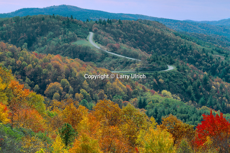 The Blue Ridge Parkway<br />