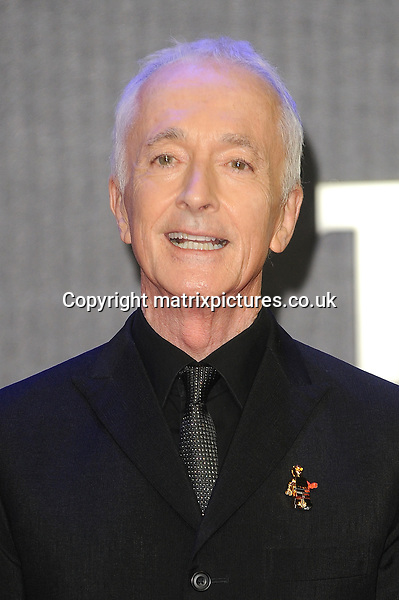 NON EXCLUSIVE PICTURE: PAUL TREADWAY / MATRIXPICTURES.CO.UK<br /> PLEASE CREDIT ALL USES<br /> <br /> WORLD RIGHTS<br /> <br /> English actor Anthony Daniels attending the European Premiere of Star Wars: The Force Awakens in Leicester Square, London.<br /> <br /> DECEMBER 16th 2015<br /> <br /> REF: PTY 153700