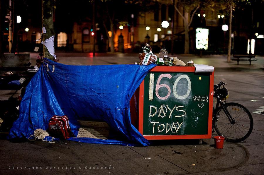 Occupy Sydney Night 160