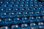 6 October 2017: Empty seats await the fans prior to the first game of the NLDS between the Washington Nationals and the Chicago Cubs at Nationals Park in Washington, DC. The Cubs shut out the Nationals 3-0 to take a 1-0 lead in their best of five Postseason series. Mandatory Credit: Ed Wolfstein Photo *** RAW (NEF) Image File Available ***