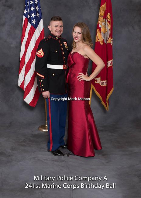 Lee Morris at the Military Police Company A 241 Marine Corps Birthday Ball, Saturday Nov. 19, 2016  in Lexington, Ky. Photo by Mark Mahan