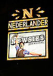 Jeremy Jordan - Theatre Marquee at  the 'NEWSIES' Opening Night after Party at the Nederlander Theatre in New York on 3/29/2012