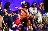 "HOLLYWOOD, CA - MARCH 23: Billy Porter (center) at PaleyFest 2019 for FX's ""Pose"" panel at the Dolby Theatre on March 23, 2019 in Hollywood, California. (Photo by Vince Bucci/FX/PictureGroup)"