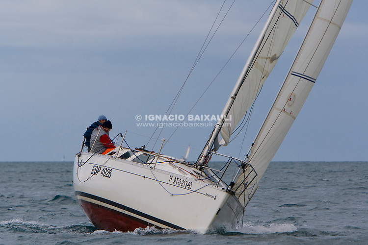 ESP5426.SIESTA.Manuel Vicente Garcia Miguel.. -IV edición de la regata 30 Millas A2, III Memorial Luís Sáiz - 31/1/2009 C.N. Port Saplaya, Alboraya, Valencia, Comunidad Valenciana, España