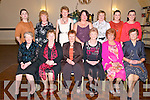 Celebrating Women's Christmas at the Listowel Arms Hotel on Friday night last were in front : Bridget O'Donnell, Peg Heffernan, Joan Moloney, Eileen Worster, Rita Hannon & Nora Scanlon. Back : Irene O'Leary, Betty Griffin, Bridie Carroll, Agnes Heaphy, Nina, Jacinta & Elaine White.