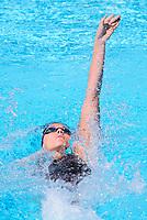 Commonwealth Games - Swimming - Optus Aquatics Centre, Gold Coast, Australia - Bobbi Gichard of New Zealand competes in the Women's 100m Backstroke heats. 6 April 2018. Picture by Alex Whitehead / www.photosport.nz