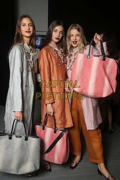 EMPORIO ARMANI<br /> backstage at Milan Fashion Week, Ready to Wear, Spring Summer 2016, Milan, Italy September 25, 2015.<br /> CAP/GOL<br /> &copy;GOL/Capital Pictures