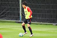 Makoto Hasebe (Eintracht Frankfurt) - 10.10.2017: Eintracht Frankfurt Training, Commerzbank Arena
