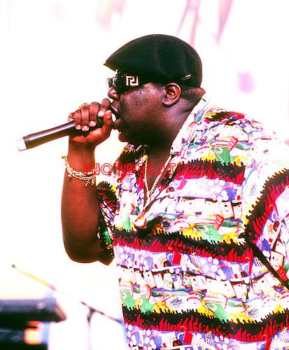 Notorious B.I.G. 1995 Notorious Big.© Chris Walter.