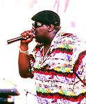 Notorious B.I.G. 1995 Notorious Big.© Chris Walter.