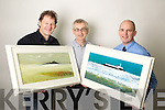 Artist John Hurley, Colin Lacey, Editor Kerry's Eye and Brendan Kennelly, Marketing Manager Kerry's Eye.