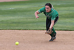 Rancho's Gianna Carosone makes a play against Reed during NIAA DI softball action at the University of Nevada, in Reno, Nev., on Thursday, May 19, 2016. Cathleen Allison/Las Vegas Review-Journal