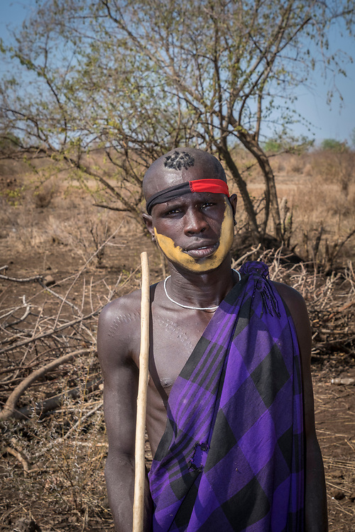 The Mursi are undoubtedly the most celebrated tribe in the South Omo, who number about 5,000.