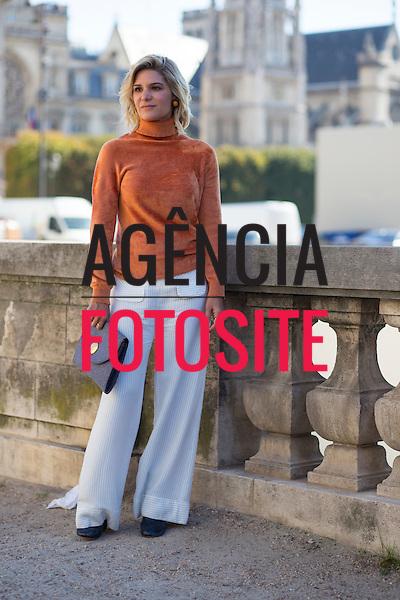 Street Style<br /> <br /> Paris -  Verao 2016