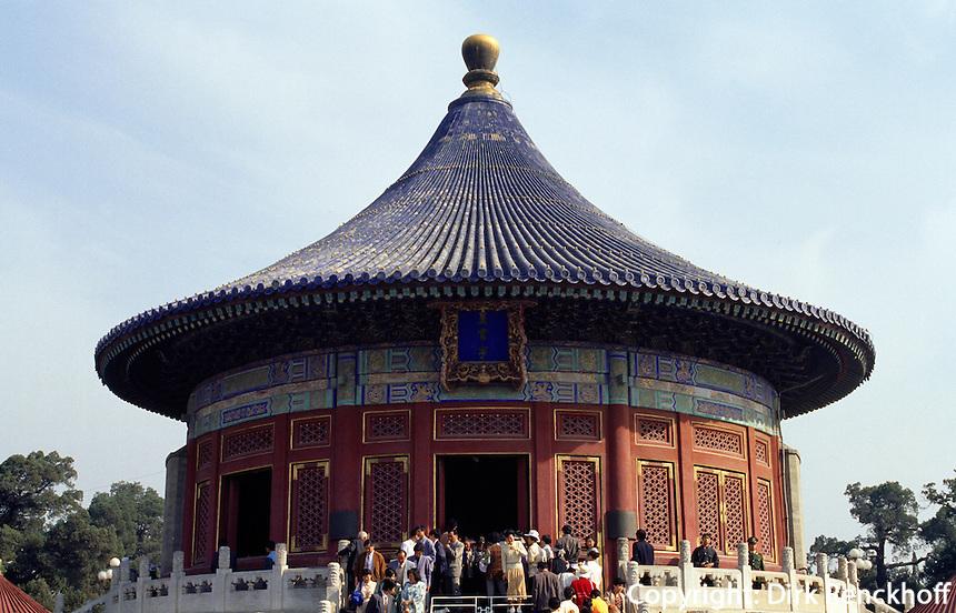 China, Peking, Himmelsgewölbe des Himmelstempel (Tian Tan), Unesco-Weltkulturerbe