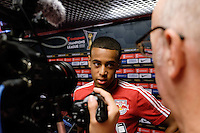 Harrison, NJ - Thursday Sept. 15, 2016: Tyler Adams after a CONCACAF Champions League match between the New York Red Bulls and Alianza FC at Red Bull Arena.