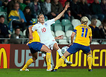 Kelly Smith, Sweden-England, Women's EURO 2009 in Finland, 08312009, Turku, Veritas Stadium.