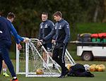 26.10.18 Rangers training: Steven Gerrard