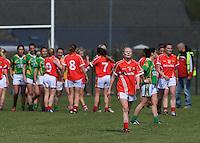 2015 LGFA Div 1 semi final - Cork v Kerry. www.AnoisPhotography.com