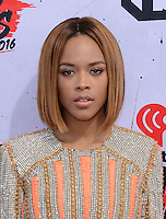 Serayah @ the 2016 iHeart Radio Music awards held @ the Forum.<br /> April 3, 2016