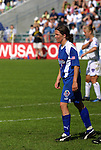 5 April 2003: Hege Riise. The Washington Freedom defeated the Carolina Courage 2-1 at SAS Stadium in Cary, NC in a regular season WUSA game.