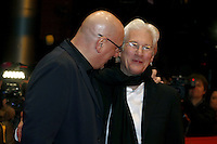www.acepixs.com<br /> <br /> February 10 2017, Berlin<br /> <br /> Director Oren Moverman and actor Richard Gere arriving at the premiere of 'The Dinner' during the 67th Berlinale International Film Festival Berlin at Berlinale Palace on February 10, 2017 in Berlin, Germany.<br /> <br /> By Line: Famous/ACE Pictures<br /> <br /> <br /> ACE Pictures Inc<br /> Tel: 6467670430<br /> Email: info@acepixs.com<br /> www.acepixs.com