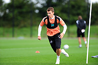 Tom Carroll of Swansea City in action during the Swansea City Training Session at The Fairwood Training Ground, Wales, UK. Tuesday 11th September 2018