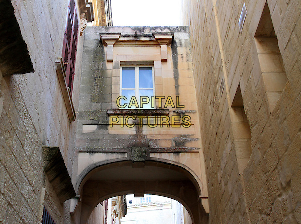 Narrow streets in Mdina, Malta - on January 27th 2015<br /> CAP/ROS<br /> &copy;Steve Ross/Capital Pictures