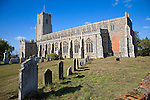 Church of the Holy Trinity, Blythburgh,  Suffolk, England one of the oldest christian sites in East Anglia.