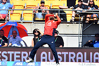 3rd November 2019, Wellington, New Zealand;  England's David Malan drops a catch at covers during the second T20 International game between New Zealand and England, Westpac Stadium, Wellington, Sunday 3rd November 2019.  - Editorial Use