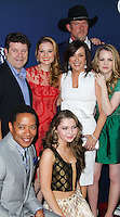 "HOLLYWOOD, LOS ANGELES, CA, USA - APRIL 29: Sean Astin, Sarah Drew, Sammi Hanratty, Patricia Heaton, Trace Adkins, Abbie Cobb at the Los Angeles Premiere Of TriStar Pictures' ""Mom's Night Out"" held at the TCL Chinese Theatre IMAX on April 29, 2014 in Hollywood, Los Angeles, California, United States. (Photo by Xavier Collin/Celebrity Monitor)"
