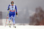 Riitta-Liisa Roponen in action during the Women 5 km Classic Individual in Val Di Fiemme<br /> <br /> &copy; Pierre Teyssot