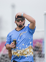 JESSE McCLURE (STORAGE HUNTERS) during the SOCCER SIX Celebrity Football Event at the Queen Elizabeth Olympic Park, London, England on 26 March 2016. Photo by Andy Rowland.