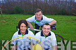 Kerry Local Sports Partnership have nominated three Kerry Volunteers for their contribution to sport at the National Awards for Volunteers in Irish Sport.L-R Doreen O'Connell (Children's Games),  Toma?s Crowley (Cycling Hillwalking) and Paul Donovan (Soccer)