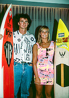 Mark Richards (AUS) and Wendy Botha (ZAF) Sydney Australia 1990. Photo: joliphotos.com