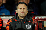 Ryan Giggs, assistant manager of Manchester United dejected during the UEFA Europa League match at Old Trafford. Photo credit should read: Philip Oldham/Sportimage