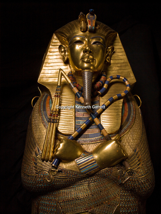 Tut DNA, MM7864, King Tutankhamun, Egypt, Egyptian Museum, Gold, Sarcophagus, New Kingdom, Valley of the Kings, TUT, King Tut