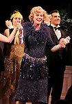 Blythe Danner Returns to Broadway: Blythe Danner.during the Curtain Call for 'Nice Work If You Can Get It'  at the Imperial Theatre in New York City on December 19, 2012