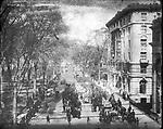 Frederick Stone negative. Auto Run W. Main and Elton Street, 1906.