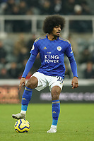1st January 2020; St James Park, Newcastle, Tyne and Wear, England; English Premier League Football, Newcastle United versus Leicester City; Hamza Choudhury of Leicester City - Strictly Editorial Use Only. No use with unauthorized audio, video, data, fixture lists, club/league logos or 'live' services. Online in-match use limited to 120 images, no video emulation. No use in betting, games or single club/league/player publications