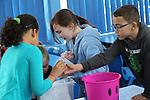 Welsh Water<br /> Education visit to Gear Primary School<br /> 26.03.15<br /> &copy;Steve Pope - FOTOWALES