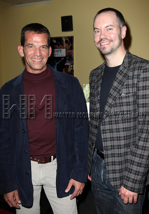 Tom Judson and Dan Knechtges attend the opening night performance reception for the Keen Company production of Marry Me A Little at the Clurman Theatre in New York City on10/2/2012.
