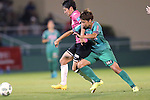(L-R) <br /> Midori Isokane (Jef Ladies), <br /> Mina Tanaka (Beleza), <br /> SEPTEMBER 3, 2016 - Football / Soccer : <br /> Plenus Nadeshiko League Cup 2016 Division 1 Final match <br /> between NTV Beleza 4-0 Jef Chiba Ladies <br /> at Ajinomoto Field Nishigaoka in Tokyo, Japan. <br /> (Photo by AFLO SPORT)