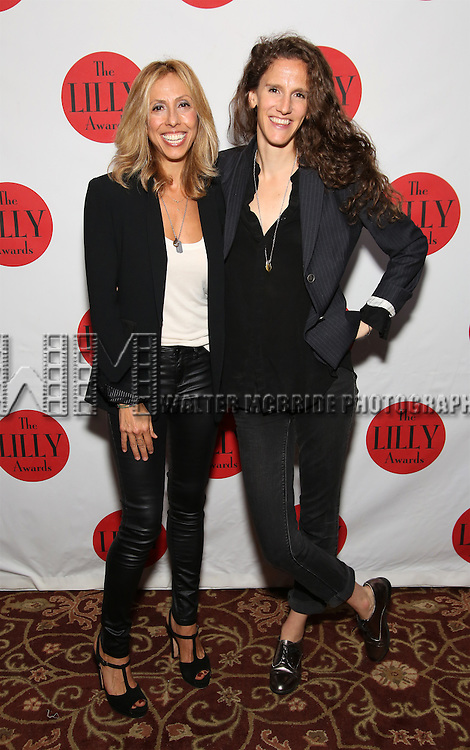 Amanda Green and Zoe Sarnak attends The Lilly Awards Broadway Cabaret at the Cutting Room on October 17, 2016 in New York City.