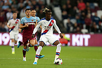 Wilfried Zaha of Crystal Palace  during West Ham United vs Crystal Palace, Premier League Football at The London Stadium on 5th October 2019