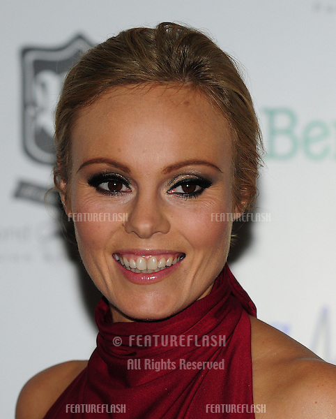 Michelle Dewberry arriving for the Global Angels Awards at the Park Plaza Hotel in Westminster London. 02/12/2011 Picture by: Simon Burchell / Featureflash