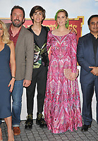 "Lee Mack, Sebastian Croft and Kate Nash at the ""Horrible Histories: The Movie - Rotten Romans"" world film premiere, Odeon Luxe Leicester Square, Leicester Square, London, England, UK, on Sunday 07th July 2019.<br /> CAP/CAN<br /> ©CAN/Capital Pictures"